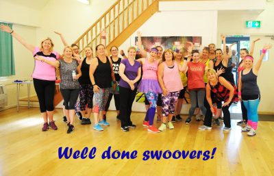 Swoovathon for Stroke Unit at Eastbourne and Stroke Association South East