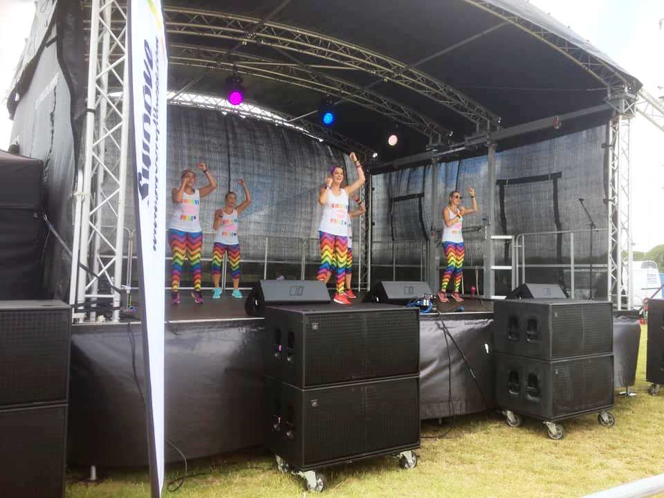 Swoove with Maria at Eastbourne Pride