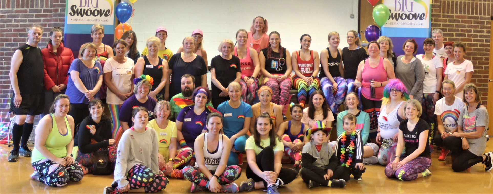 Swoovathon on Sunday 8th March 2020 for 5 local charities